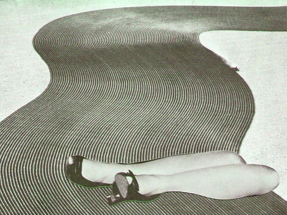 Collage door Marc van der Holst bij samengesteld gedicht
